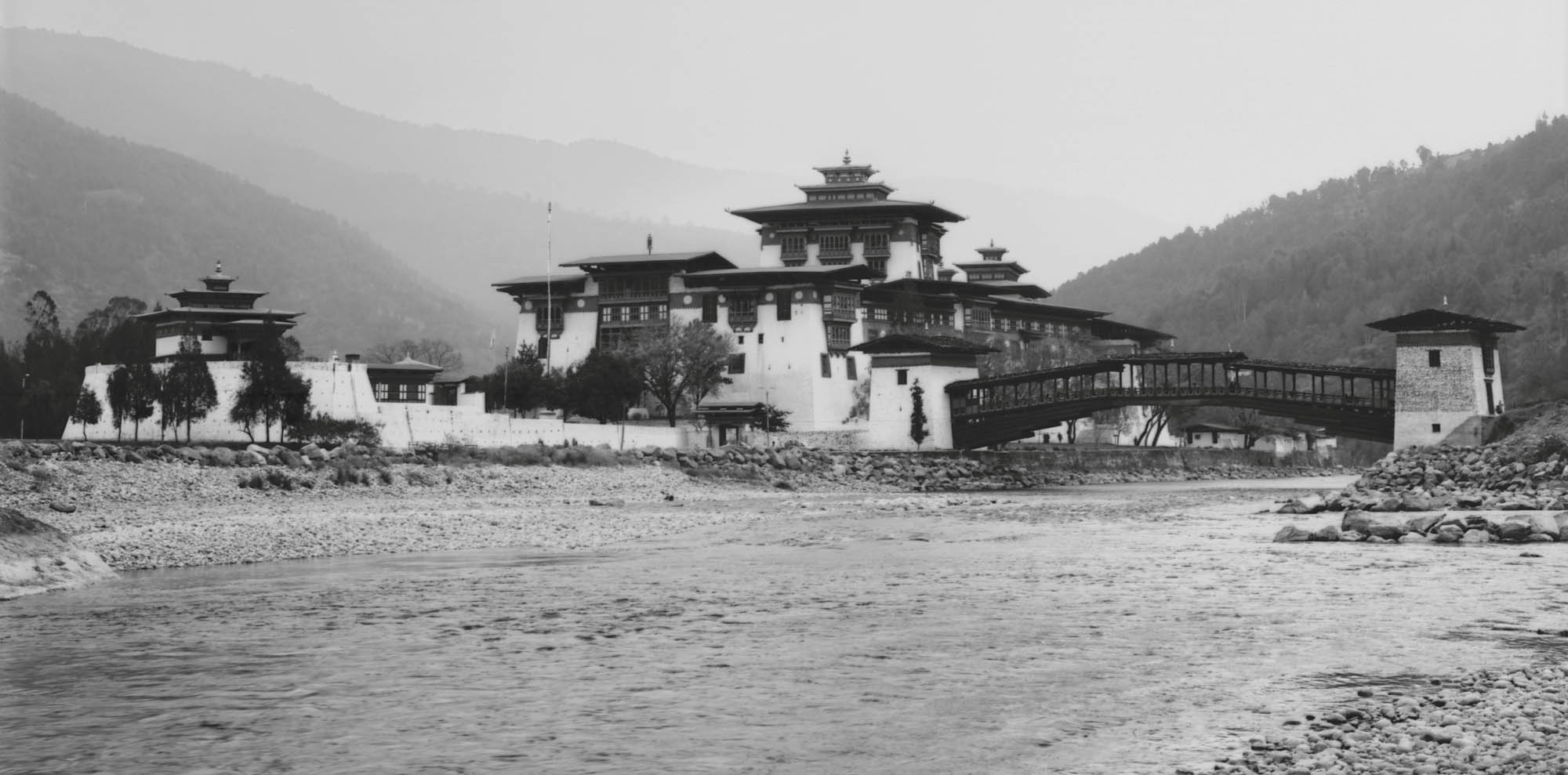 Phunakka Dzong 2010. Rollei ATP Film developed with 510-pyro; this is one of my favorite frames of all time.